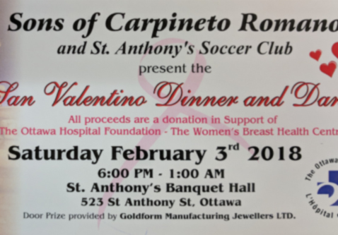 San Valentino Dinner and Dance